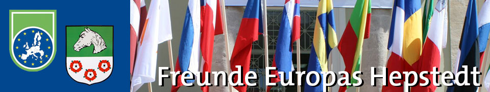Freunde Europas Hepstedt Fahnen