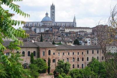 Sienas Architektur vertritt vor allem die italienische Gotik