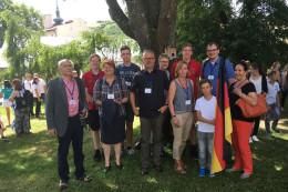 Die Delegation aus Hepstedt