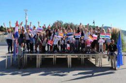 Vortrag über das Jugendtreffen in Tisno